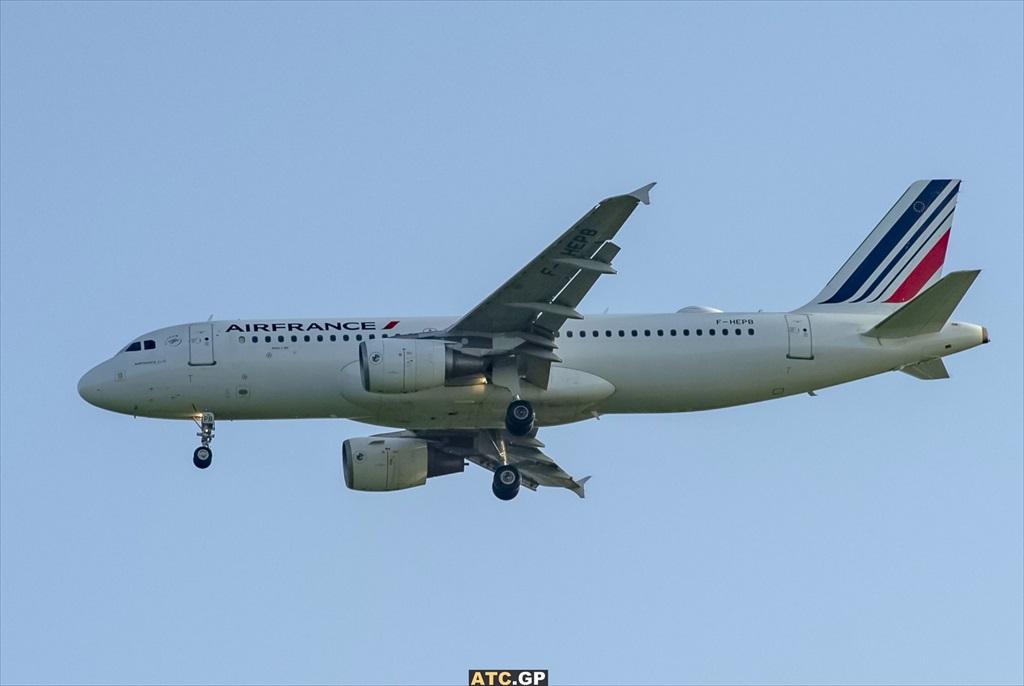 A320-200 Air France F-HEPB