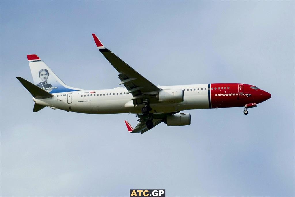B737-800 Norwegian EI-FJS
