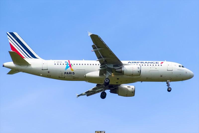A320-200 Air France F-GKXQ