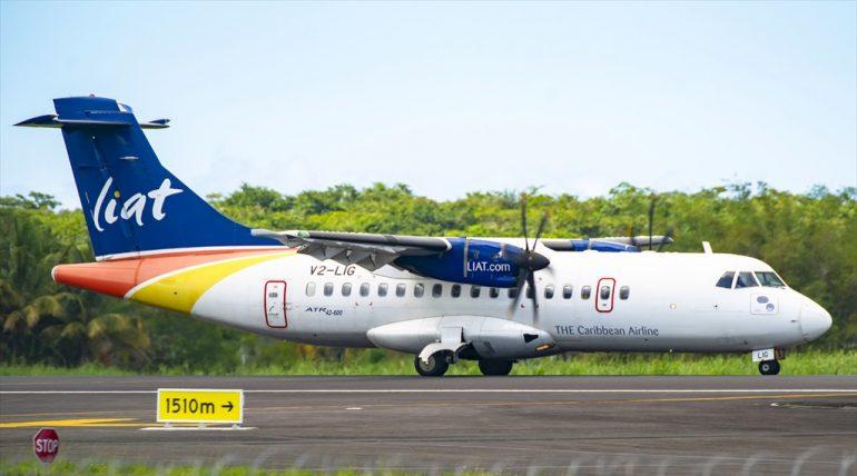 ATR42-600 LIAT V2-LIG