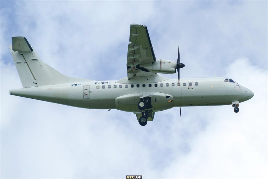ATR42-500 Air Antilles F-GPYF