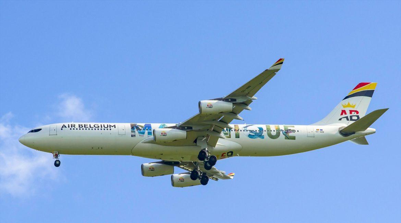 A340-300 Air Belgium OO-ABB