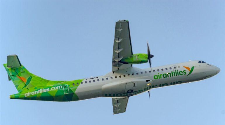 ATR-72-212A Air Antilles F-OMYN