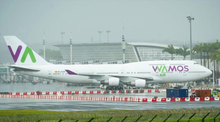 B747-400 Wamos Air EC-KXN