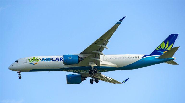 A350-900 Air Caraibes F-HTRE