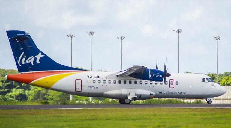 ATR42-600 LIAT V2-LIM