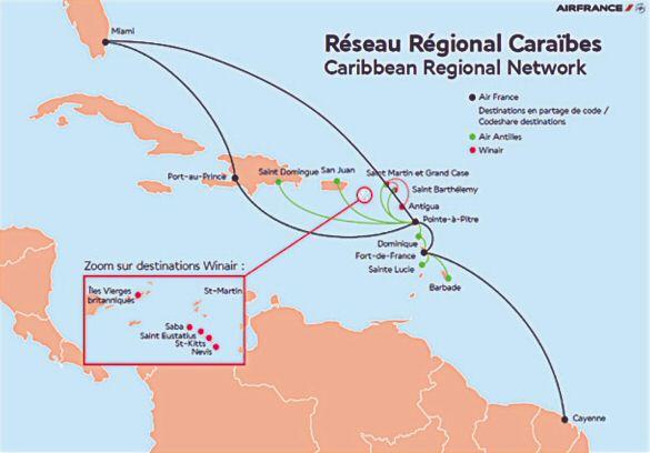 AF Caibbean network